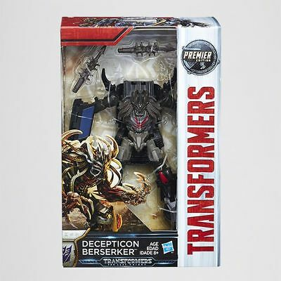 NEW Transformers The Last Knight Premier Deluxe Decepticon Berserker