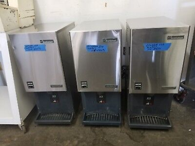 Scotsman Stainless Steel Flake Ice Maker Machine & Dispenser Model MDT3F12A-1H