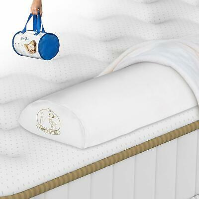 Foam Toddler Safety Side Bed Rail  Waterproof Cover  Prevents Your Child (white)