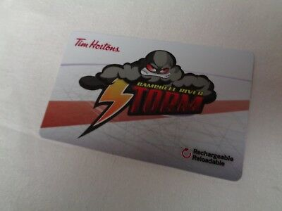 Tim Horton's  -  CAMPBELL RIVER STORM (FD57043) - 2017 New, Unused