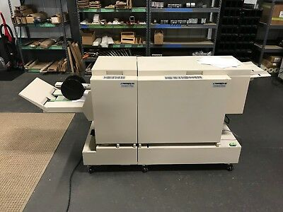 Plockmatic 102 /103 DocuBind Bookletmaker / Face Trimmer - Fully-Serviced!