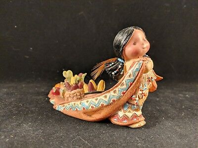 "Friends of the Feather Figure ""She Who Lends An Ear"" Enesco # 115681"