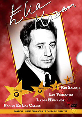 Elia Kazan Collection NEW PAL Classic 4-DVD Box Set