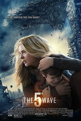 THE FIFTH WAVE Movie Poster - Original - DS - 27x40 - FINAL - CHLOE GRACE MORETZ