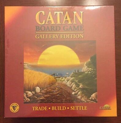 Catan Board Game Gallery Edition Mayfair Games 2008 Brand New USA!