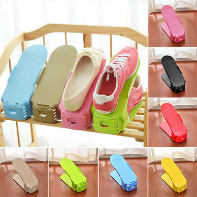8 Color Durable Portable Space Saver Shoes Slots Organizers Rack Holder Storage