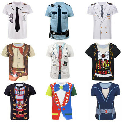 Summer Women/men Tuxedo funny 3D print Short Sleeve Casual tops T-Shirt S-5XL R2