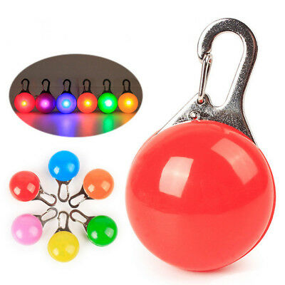 Led Safety Night Light Pendants Luminous Necklaces Pet Outdoor Walking Supplies