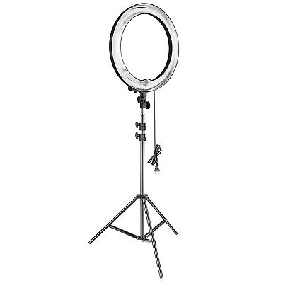 """Neewer 18"""" Outer 75W Dimmable Studio Fluorescent Ring Light with Light Stand for"""