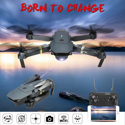 Eachine E58 WIFI FPV 720P HD Camera  Foldable RC Drone Quadcopter RTF Gift