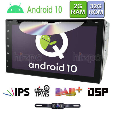 """7"""" 2 Din Android Car Stereo DVD GPS WiFi OBD2 Head unit Mirror-Link + Camera"""
