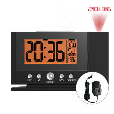 Baldr Digital Projection Clock Alarm Snooze Constant Backlight Wall Projector