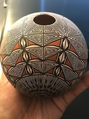 acoma pueblo pottery From Sky City New Mexico