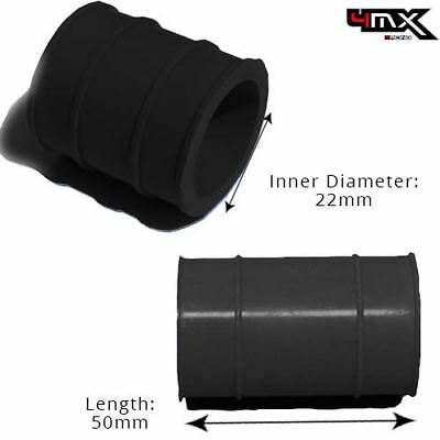 Universal Exhaust Rubber Joint 2 Stroke Black 22mm