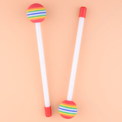 2pcs Drum Sticks Toy Hand Drumsticks Mallet Percussion Baby Kids Early Learning