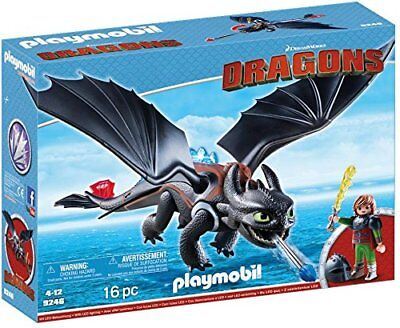 Playmobil 9246 Dragons Hiccup & Toothless - LED Light Effects