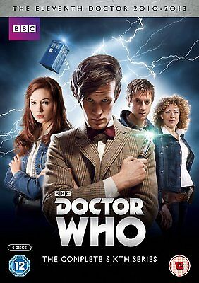 DOCTOR WHO Complete Series 6 SEALED/NEW dvds (Dr. who) 6th sixth season six BBC
