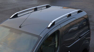 Alu Roof Rack Rails Side Bars Set To Fit Citroen Berlingo SWB (2008+)