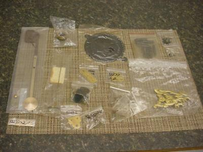 Huge Lot of New Clockmaker Mantle Wall Clock  Parts SteamPunk  D248