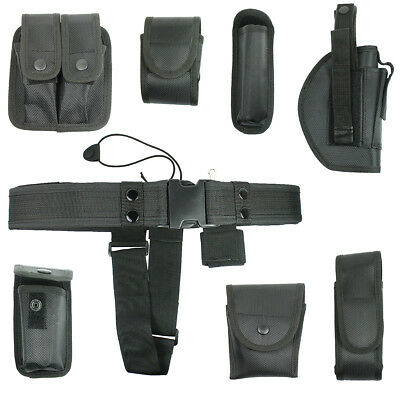 10 in 1 Police Security Guard Modular Enforcement Equipment Duty Belt Tactical
