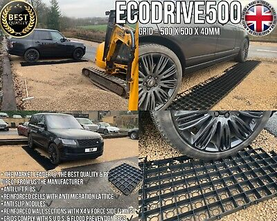 REINFORCEMENT GRIDS DRIVEWAY STABILITY GRIDS PARKING ECO PLASTIC PAVING SLABS nw