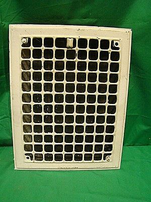 Antique Iron Heating Vent Grate Square Design 14 X 11  Dg