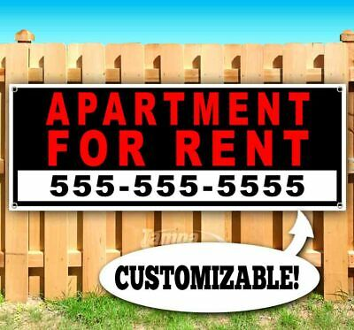 APARTMENT FOR RENT W/PHONE # Advertising Vinyl Banner Flag Sign Many Sizes USA