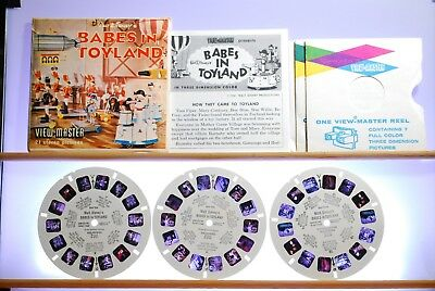 Babes in Toyland 3-reel Set B375 - Sawyers S5 View-Master