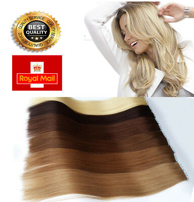 Brazilian Double Drawn Hot Sale Extra THICK Tape In Remy 100% Real Human Hair