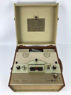 Vtg Voice of Music Tape-O-Matic Model 722 Reel to Reel Tape Recorder Player (#1)