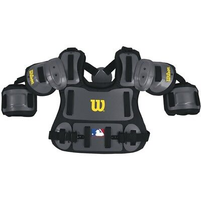 "Wilson 13"" Baseball Umpire Fitted Chest Protector, New"