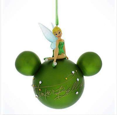 Disney Parks Tinkerbell Signature Ball Christmas Holiday Ornament NWT Ships  Free - DISNEY PARKS TINKERBELL Signature Ball Christmas Holiday Ornament