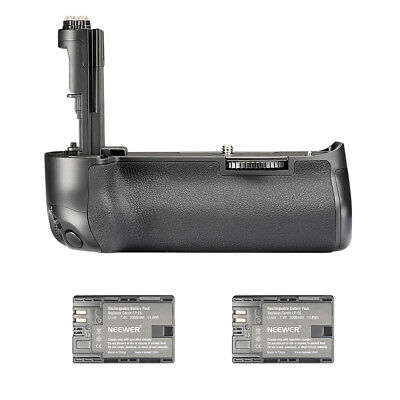 Neewer Battery Grip with 2pcs Batteries for Canon EOS 5D Mark III 5DS 5DSR