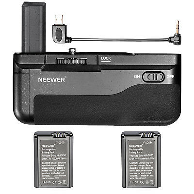 Neewer Battery Grip with 2pcs Li-ion Batteries for Sony A6300 Mirrorless Camera