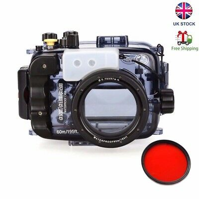 Seafrogs Underwater Camera Housing Case for Sony A6000 A6300 A6500 16-50mm UK