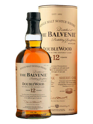 Balvenie 12YO DoubleWood Single Malt Scotch Whisky 700ml(Boxed)