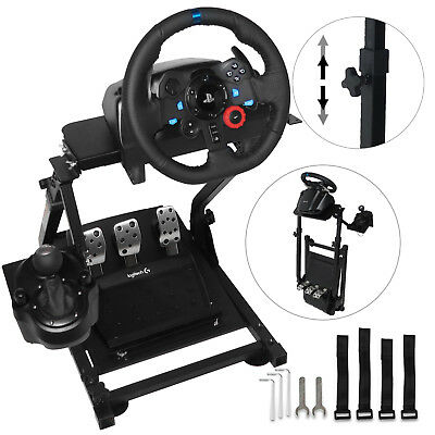 8a94559cb8e Racing Simulator Steering Wheel Stand Logitech G29 Gear shifter Mount V2