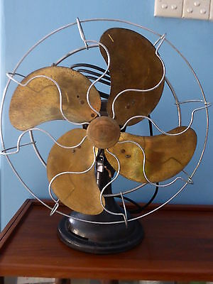 Vintage LIMIT Brand Oscillating Electric Table Fan 3 Speed Made In England