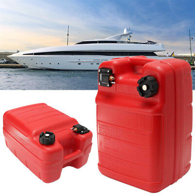 New Portable Boat Yacht Engine Marine Outboard Fuel Tank Oil Box With Connector