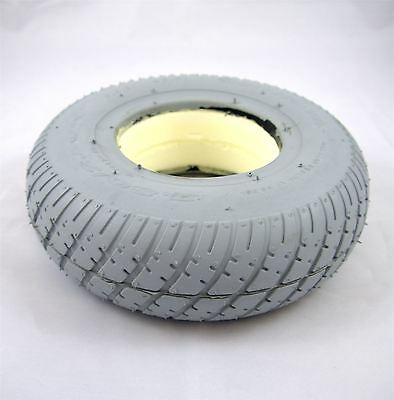 2.80/2.50-4 Grey Solid Mobility Scooter Wheelchair Tyre Innova (280/250x4)