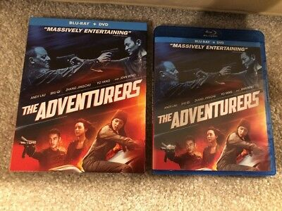 The Adventures ( Bluray + DVD ) Ship Now
