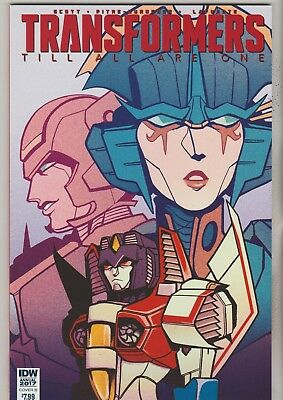 Idw Comics Transformers Till All Are One Annual 2017 Variant B 1St Print Nm