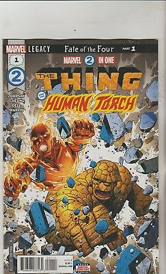 Marvel Comics Marvel Two In One #1 February 2018 1St Print Nm