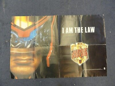 Judge Dredd Film Movie Poster From 1995