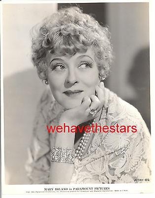 Vintage Mary Boland CHARACTER ACTRESS '34 DBW Publicity Portrait