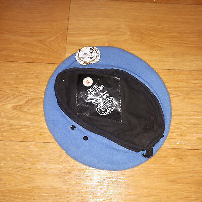 United Nations Beret And Badge Size 57