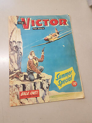 VICTOR SUMMER SPECIAL 1970 comic - UNFOLDED!