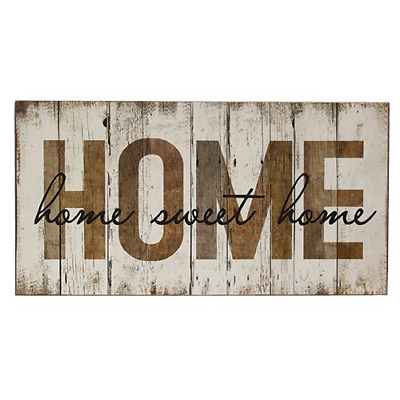 """New Shabby Farmhouse Chic Rustic GRATEFUL THANKFUL BLESSED SIGN Shiplap Wood 20/"""""""