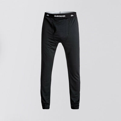 Quiksilver 'Territory' Polartec Base Layer Pants. Black.