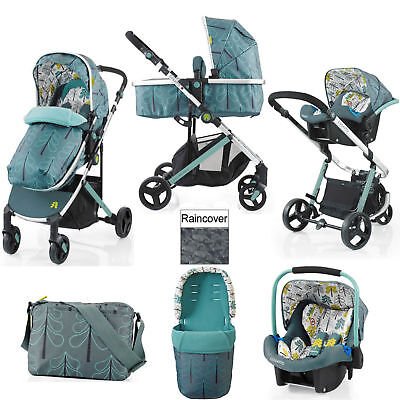 Cosatto Wish Fjord Travel System Pushchair Car Seat From Birth